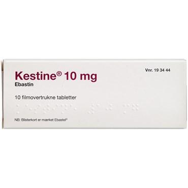 Image of Kestine 10 stk Filmovertrukne tabletter