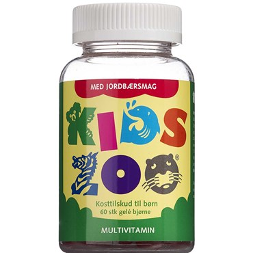 Kids Zoo Multivitamin tyggedyr 60 stk thumbnail