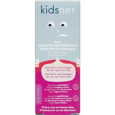 Kidsner mari halsspray 30 ml thumbnail
