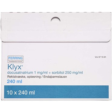 Image of   Klyx 2400 ml Rektalvæske, opløsning