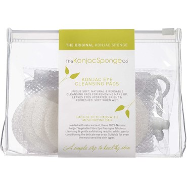 Image of   Konjac Svamp Eye Pads 8 stk