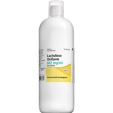 "Image of   Lactulose ""Orifarm"" 1000 ml Oral opløsning"