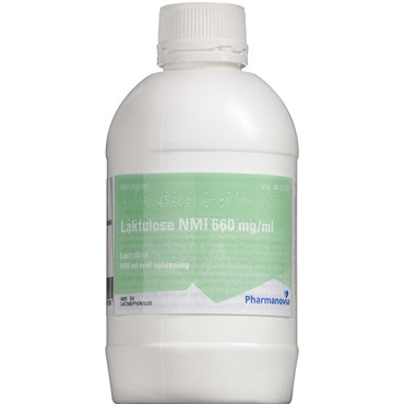 "Image of   Laktulose ""NMI"" 500 ml Oral opløsning"
