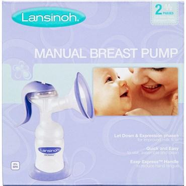 Lansinoh manuel brystpumpe 1 stk thumbnail