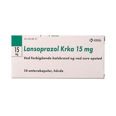 """Lansoprazol """"KRKA"""" 14 stk Enterokapsler, hårde thumbnail"""