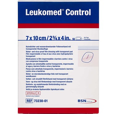 Image of   Leukomed Control 7 x 10 cm forbinding 10 stk