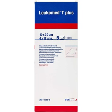 Image of   Leukomed t-plus 10cm x 30cm 5 stk