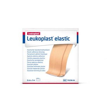 Image of   LEUKOPLAST ELASTIK 6CMX5M 1 stk.