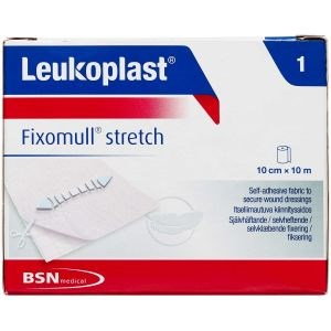 Image of   Leukoplast fixomull stretch 10M x 10 CM