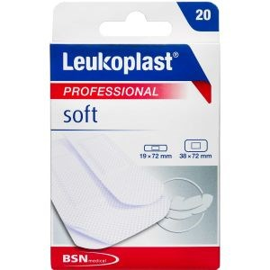 Image of   Leukoplast soft plaster 20 stk