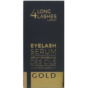 Image of   Long4lashes gold eyelash serum 4 ml