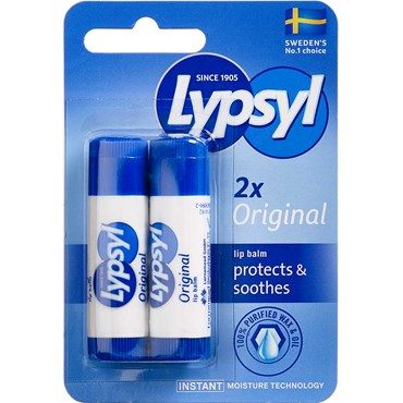 Image of   Lypsyl lip balm original 2 stk