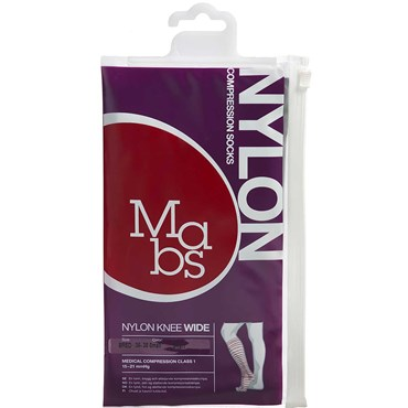 Image of   Mabs Nylon Knee Wide black str. S 1 par