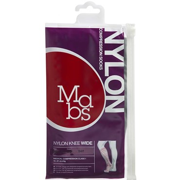 Image of   Mabs Nylon Knee Wide black str. XL 1 par