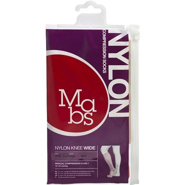 Image of   Mabs Nylon Knee Wide sand str. L 1 par