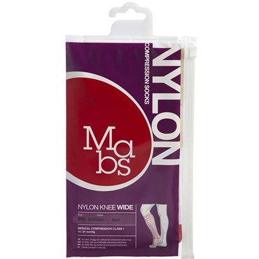 Image of   Mabs Nylon Knee Wide sand str. S 1 par