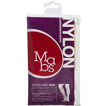 Image of   Mabs Nylon Knee Wide sand str. XL 1 par