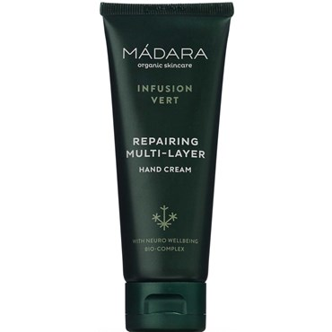 Image of   Madara Infusion Vert Repairing Multi-Layer Hand Cream 75 ml