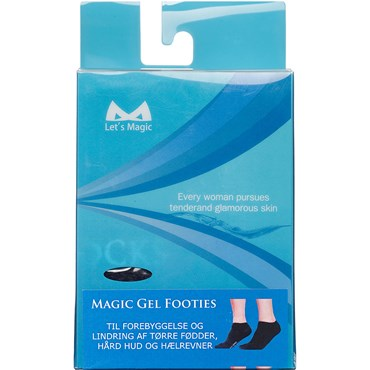 Image of   Magic gel footies Str. 41- 46 1 par