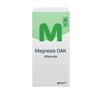 "Image of   Magnesia ""DAK"" 40 stk Filmovertrukne tabletter"