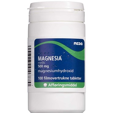 "Image of   Magnesia ""medic"" 100 stk Filmovertrukne tabletter"