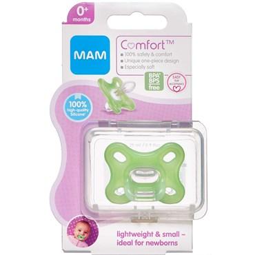 Image of   Mam comfort newborn grøn 0-2 mdr. GRØN 1 stk