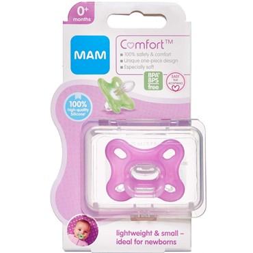 Image of   Mam comfort newborn pink 0-2 mdr. PINK 1 stk