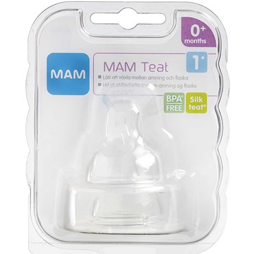 Image of   MAM Flaskesut, størrelse 1 2 stk