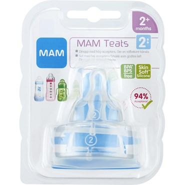Image of   MAM Flaskesut, størrelse 2 2 stk