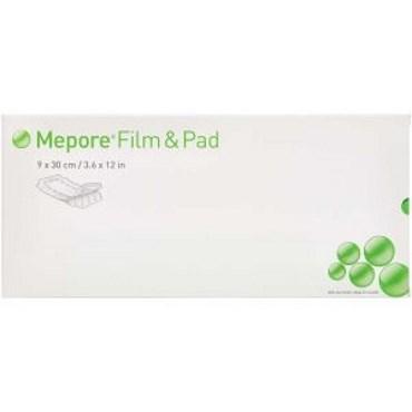 Image of   Mepore film & pad 9x30 cm 25 stk