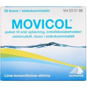 Image of   Movicol 50 stk Pulver til oral opløsning, enkeltdosisbeholder