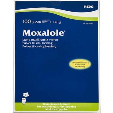 Image of   Moxalole 100 brev Pulver til oral opløsning