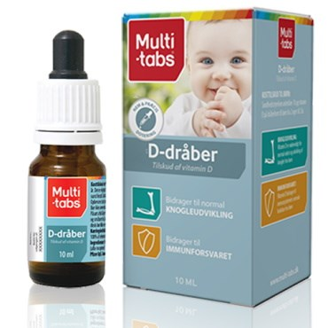 Image of   Multi-tabs D-vitamindråber 10 ml