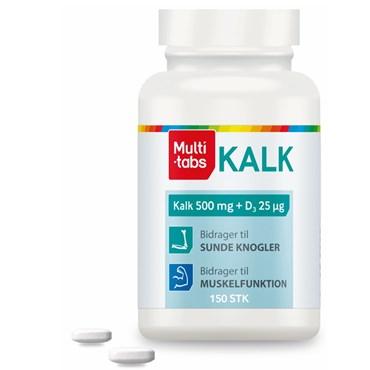 kalk og d vitamin tilskud
