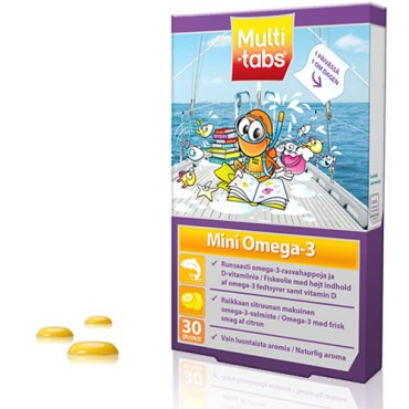 Image of   Multi-tabs Mini Omega-3 30 stk