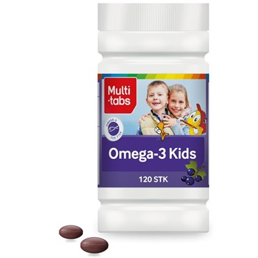 Image of   Multi-tabs Omega-3 Kids 120 stk