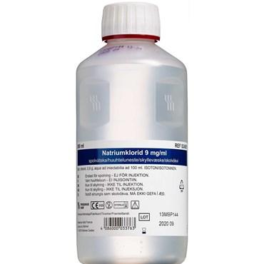 NaCl skyllevæske 9mg/ml 12 x 500 ml thumbnail