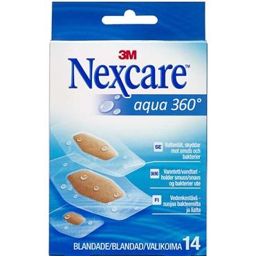 3M Nexcare Aqua 360° strips 3 str. 14 stk thumbnail