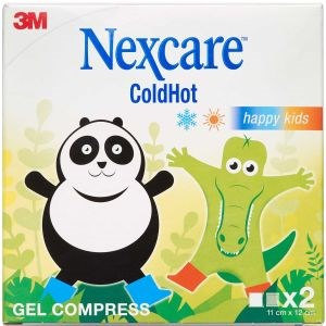 Image of   Nexcare coldhot mini happykids 2 stk