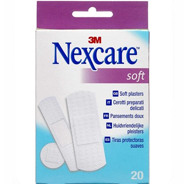 Image of   Nexcare Soft 20 stk