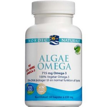 Image of   Nordic naturals algae omega 60 kapsst