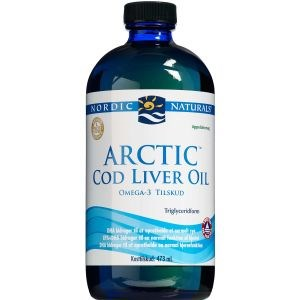 Image of   Nordic Naturals Arctic Cod Liver Oil 473 ml