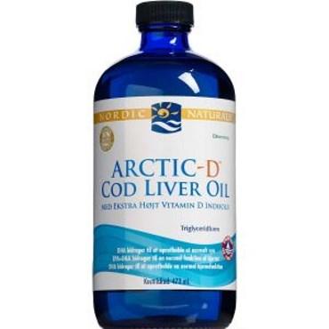 Image of   Nordic naturals ar.d cod liver 473 oilml