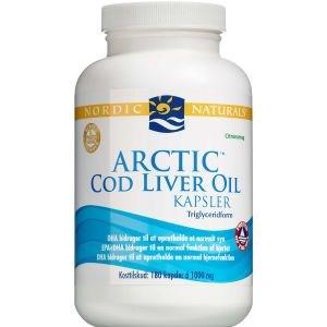 Image of   Nordic naturals cod liver oil 180 kapsst