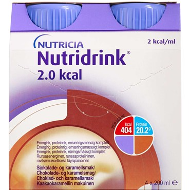 Image of   Nutridrink 2.0 kcal choko-kar 4 x 200 ml