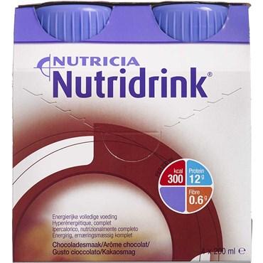 Image of   Nutridrink Chokolade 4 x 200 ml