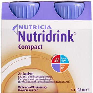 Image of   Nutridrink Compact Mokka 4 x 125 ml