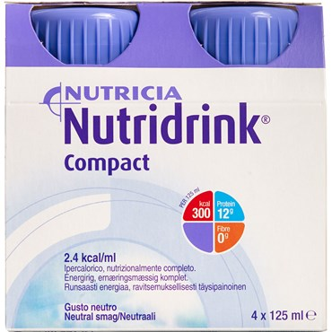 Image of   Nutridrink Compact Neutral 4 x 125 ml