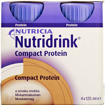 Image of   Nutridrink Compact Protein Mocca 4 x 125 ml