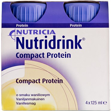 Image of   Nutridrink Compact Protein Vanille 4 x 125 ml
